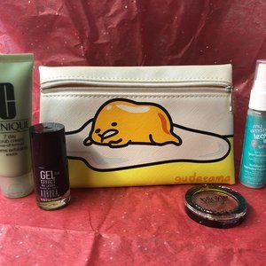 Egg ipsy bag w/ mixed beauty products